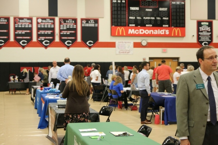 A special thanks to all of the vendors in attendance for the Vendor Fair today for staff.