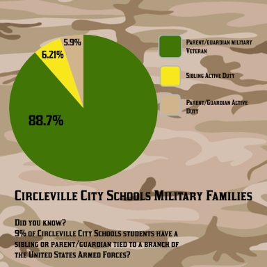 CCS Military Families Graphic
